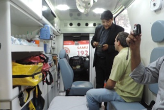 A Brazilian Hospital Manages Ambulances With Chainway UHF RFID Readers