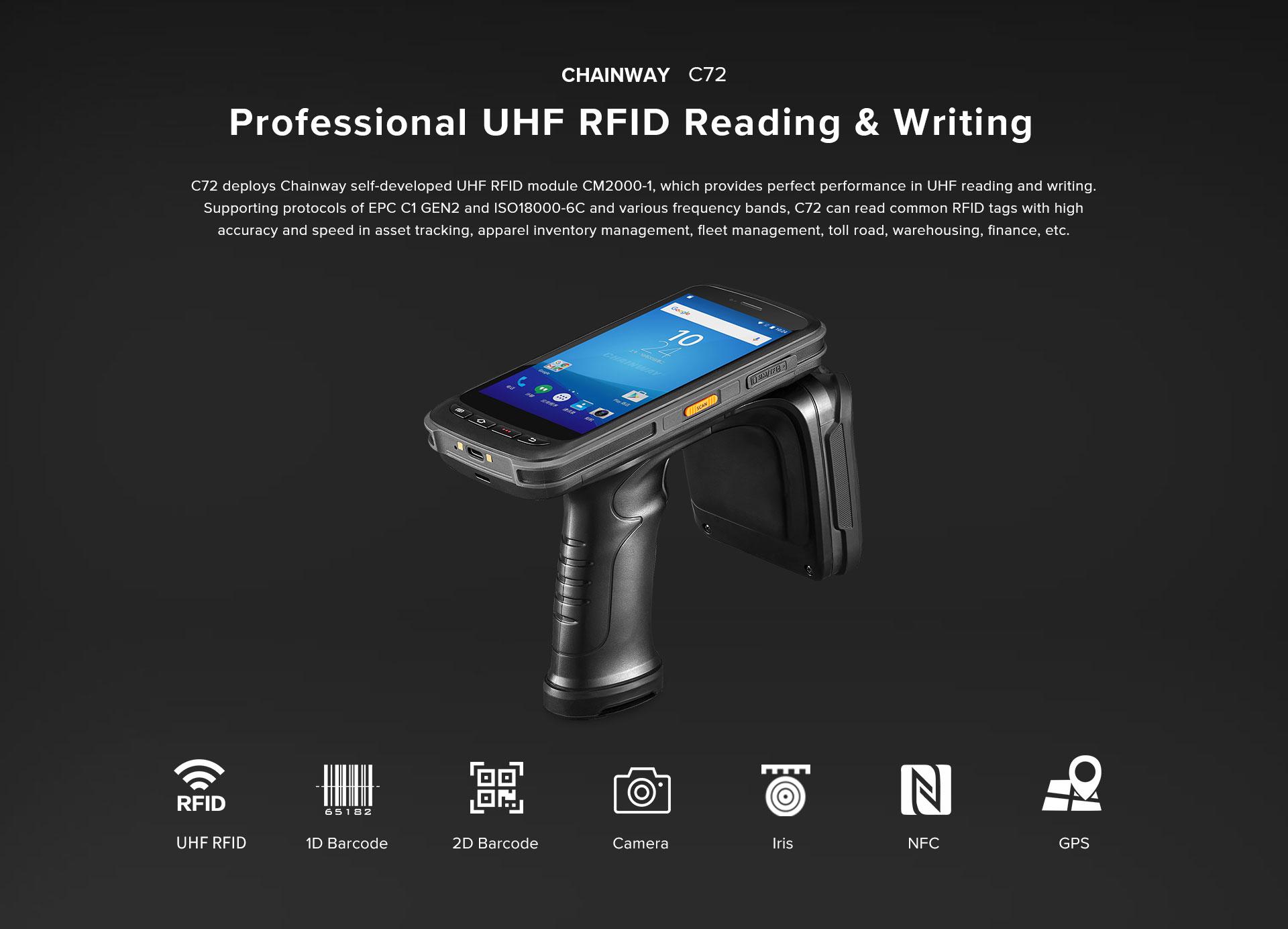 CHAINWAY - Handheld Computer_Handheld RFID Reader_Handheld