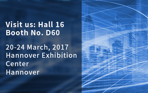 Visit us at CeBIT Germany on 20-24 March 2017