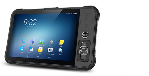 Rugged RFID Tablet